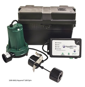 Zoeller 115V Direct Connect Backup Sump Pump System Z5080005