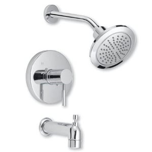 Mirabelle® Edenton® 2 gpm Single Lever Handle Tub and Shower Trim MIRED8030E
