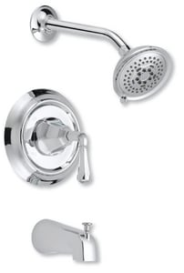 Mirabelle® Key West® 2 gpm Single Lever Handle Tub and Shower Trim MIRKW8030E