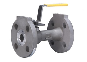 Milwaukee Valve Stainless Steel Flanged Reduced Port Ball Valve MF90SS150RN1