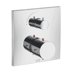 AXOR Starck X Thermostatic Valve Trim with Volume Control in Polished Chrome AX10706001