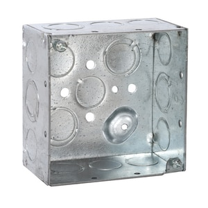 Raco 4 x 2-1/8 in. 30.3 cu in. Square Box R232