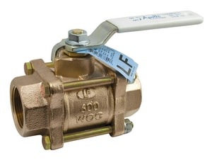 Apollo Conbraco 82LF-100 Series Bronze Full Port FNPT 600# Ball Valve A82LF1427
