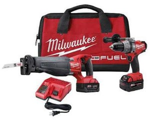 Milwaukee M18™ Hammer Drill and  Sawzall Kit M279422