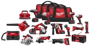 Milwaukee M18™ 18V 15-Tool Combo Kit M269515