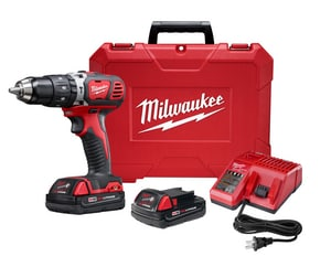 Milwaukee M18™ 18V Hammer Drill Driver Compact Kit in Chrome M260722CT