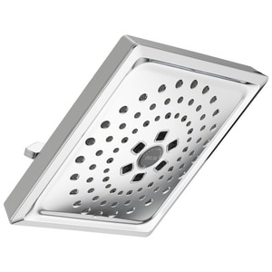 Delta Faucet 3-Function Square Raincan Showerhead D52684