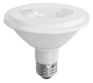 TCP PAR30 Short Neck LED Bulb Medium E-26 Base 3000K 40 Degree TLED12P30S30KFL