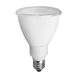 TCP 25 Degree PAR30 Medium E-26 Base Designer Non-Dimmable Smooth LED Bulb TLED12P3030KNFL