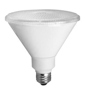 TCP Elite 25 Degree PAR38 Base Non-Dimmable Smooth LED Bulb TLED14P3830KNFL