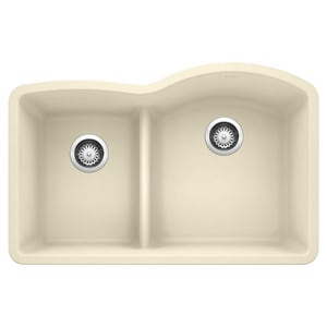 Blanco America Diamond™ 2-Bowl Granite Undermount Kitchen Sink B441606
