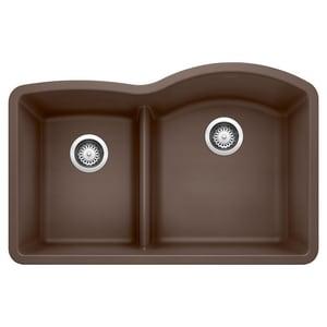 Blanco America Diamond™ Undercounter Granite Bowl Kitchen Sink in Cafe Brown B441609