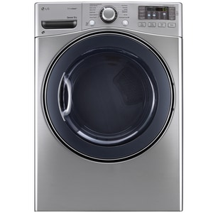 LG Electronics 28-3/8 in. 7.4 cf Ultra Large Front Load Dryer LGDLGX3571