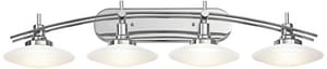 Kichler Lighting Structures 100W 4-Light Bath Fixture in Polished Chrome KK6464CH