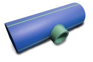 Aquatherm Butt Weld Reducing SDR 11 Polypropylene Tee A2013