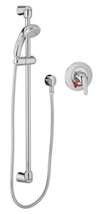 American Standard Flowise® 1.5 gpm Shower System with Single Lever Handle in Polished Chrome A1662SG211002