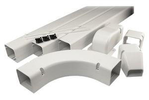 Diversitech SpeediChannel™ 19-17/25 in. Speedichannel Fitting Installation Kit DIV230IKC4