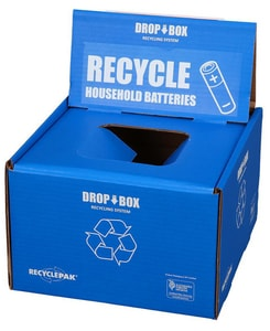 Veolia ES RecyclePak® Small Battery Drop Box VSUPPLY252