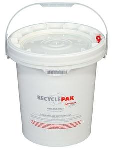 Veolia ES RecyclePak® 5 gal Lamp Ballast Recycling Pail VSUPPLY040