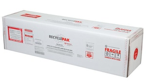 Veolia ES RecyclePak® 4 ft. Large Fluorescent Lamp Recycling Box VSUPPLY065