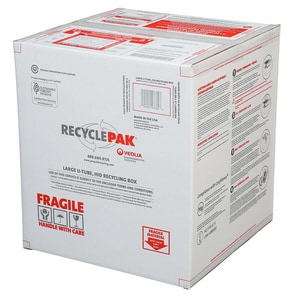 Veolia ES RecyclePak® Large U-Tube Hid Recycling Box VSUPPLY191