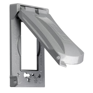 Taymac 12 x 1 in. Vertical Cover Sleeve in Grey TMX1050S