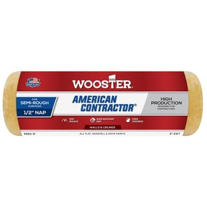 Wooster American Contractor™ 9 x 1/2 in. Roller Cover WR5639