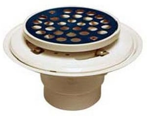 PROFLO® 2 - 3 in. PVC Tile Shower Drain with Strainer Stainless Steel PF42801