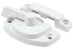 Primeline Products 2-1/16 in. Cam Lock with Keeper Non Lug Type in White PTH23083