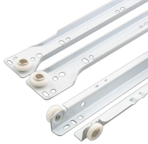 Primeline Products 22 in. 1-Set Sliding Drawer in White 2-Pack PMP7213