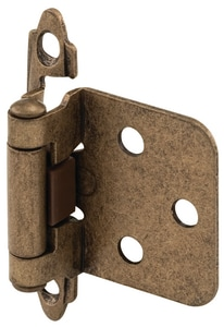 Primeline Products 1-1/4 in. Flush Mount Self Closing Cabinet Hinge P45240925