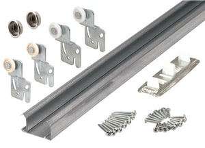 Primeline Products 48 in. Bypass Closet Track Kit P161791