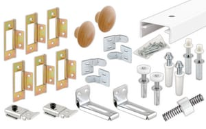 Primeline Products Bifold Closet Track Kit P161795