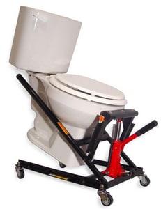 Junca Inventions Unlimited LLC Steel Toilet Master Jack JRT100