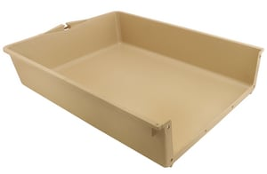 Primeline Products 8-3/4 x 4 in. Plastic Drawer Insert PR735