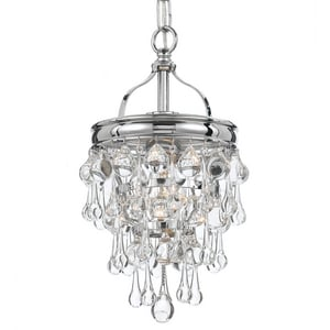 Crystorama Lighting Calypso 13 in. 1-Light Mini Chandelier C131