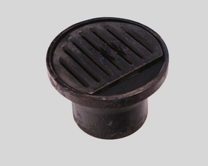 PROFLO® Inside Caulk Cast Iron Area Drain in Black PFFW9B