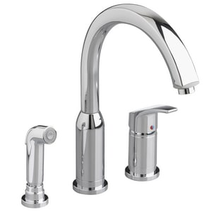 American Standard Arch™ Hi-Flow Kitchen Faucet with Single Lever Handle and Spray A4101301F15