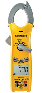 Fieldpiece Instruments 600V Compact Clamp Meter FSC240