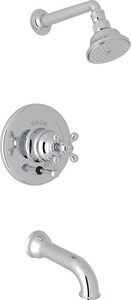 Rohl Arcana 2 gpm Shower Trim with Single Cross Handle RACKIT31EX