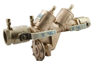 Apollo Conbraco Bronze Reduced Pressure Zone Valve with Ball Valve A4ALF20A2F