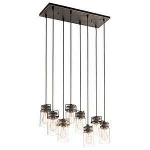 Kichler Lighting 100W 8-Light Pendant KK42890