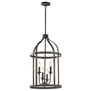 Kichler Lighting Steeplechase 60W 4-Light Pendant KK43107