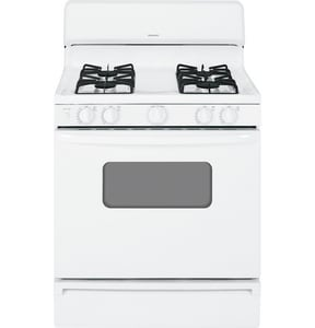 General Electric Appliances Hotpoint® 46-7/8 x 30 in. 4.8 cf Natural Gas Freestanding Range GRGB526DEH