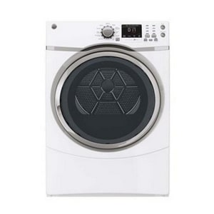General Electric Appliances 39-3/8 in. 7.5 cf Front Load Dryer with Steam in White GGFDS170HWW