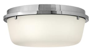 Hinkley Lighting 60W 2-Light Medium E-26 Base Flushmount Ceiling Fixture H3851