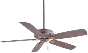 Minka-Aire Sunseeker 60 in. 64.3W 5-Blade ABS Exterior Ceiling Fan MF532