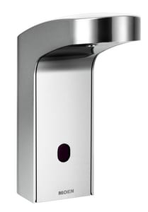 Moen 0.5 gpm Hands Free Sensor-Operated Lavatory Faucet M8551AC