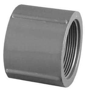 Schedule 80 Threaded Plastic Coupling P80T