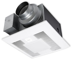 Panasonic WhisperGreen Select™ Ceiling Mount Fan and Light PANFV0511VKL1